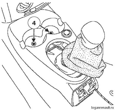 Снятие и установка блока управления подушками безопасности - Renault Logan / Рено Логан