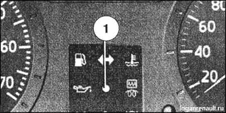 Система блокировки запуска двигателя - Renault Logan / Рено Логан